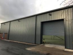 Unit 19A Roller Shutter Door in Birmignham - N Harris